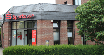 Ratingen entdecken - Sparkasse HRV Filiale Homberger Str.